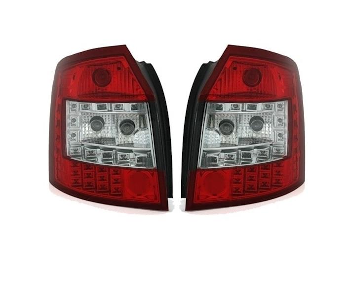 SET-REAR-LIGHTS-LED-VT373-AUDI-A4-8E-B6-AVANT-ESTATE-2001-2004-RED thumbnail 2
