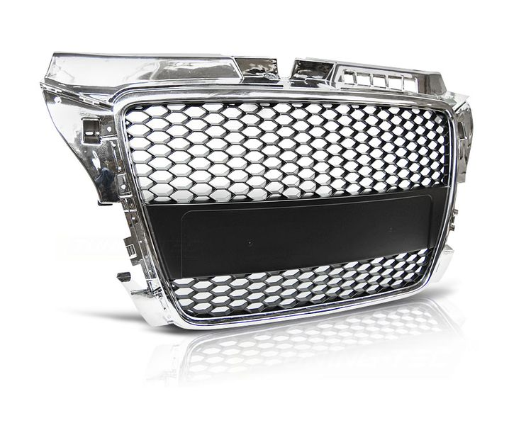 FRONT GRILL GRAU40 AUDI A3 8P RS-TYPE 2008 2009 2010-2012 ...